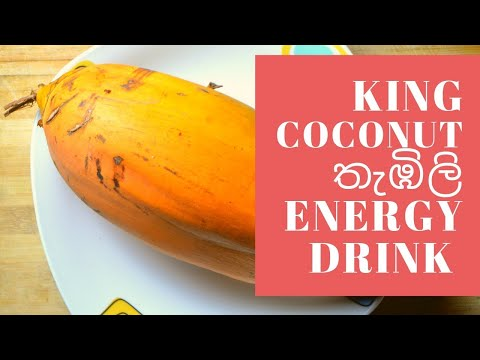 King Coconut Water (energy Drink - Healthy Economic) Easy To Make Coconut Drink In Sri Lanka