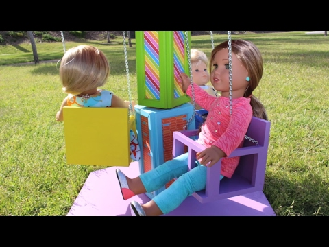 American Girl Doll Carnival Swing Playset Review