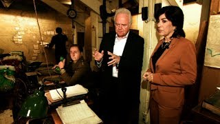 Amanpour tours Churchill's bunker