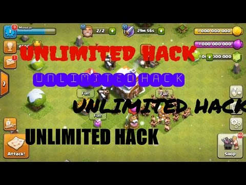 Clash of clans unlimited TROOPS 2017 hack  (CONNECT TO WIFI FIRST TIME)