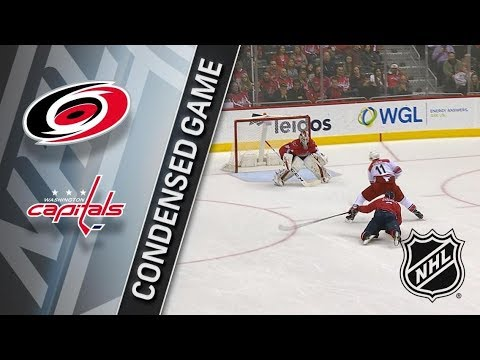 Carolina Hurricanes vs Washington Capitals – Jan. 11, 2018 | Game Highlights | NHL 2017/18. Обзор