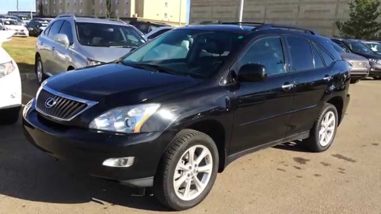 pre owned black 2009 lexus rx 350 4dr review calgary. Black Bedroom Furniture Sets. Home Design Ideas