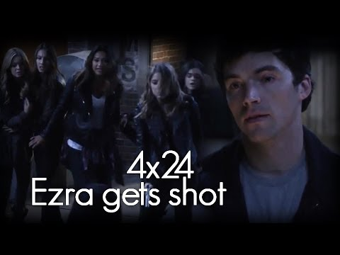 Pretty Little Liars 4x24 - Ezra Gets Shot [HD]