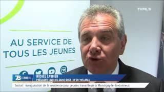 Social : inauguration de la résidence pour jeunes travailleurs à Montigny-le-Bretonneux