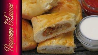 Пирожки в духовке с мясом и капустой .Мой секрет приготовления .Рецепты Алины.