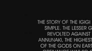 The Annunaki are not the Nephilim or the Fallen Angels
