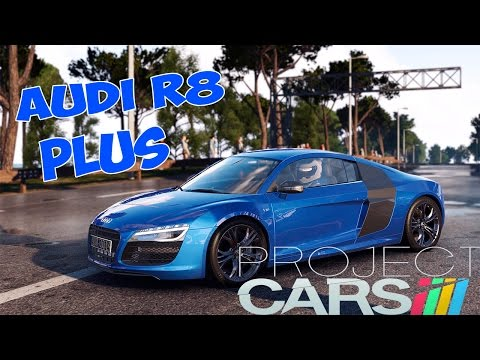 Project Cars - AUDI R8 Plus - TEST DRIVE+CRASH TESTING
