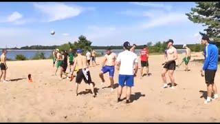 Пляжный футбол в исполнении игроков МФК ЛКС