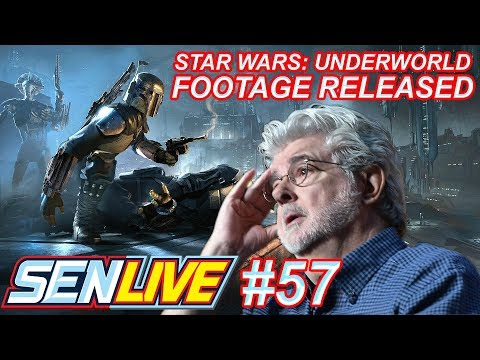 Star Wars Underworld TV Show Test Footage Released! - SEN LIVE #57