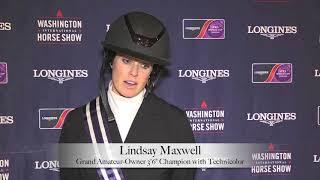 "Lindsay Maxwell - Grand Amateur-Owner 3'6"" Hunter Champion"