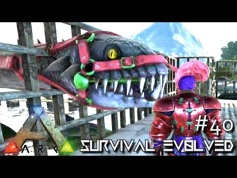 ARK: Survival Evolved - PERFECT 120 TAMED PLESIOSAUR BABY !!! - SEASON 3 [S3 E40] (Gameplay)