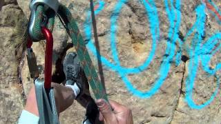 How to spider rappel - one of my favorite techniques