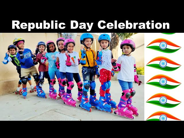 Republic Day Celebration 2020 at our Apartment / 26 January Celebration / LearnWithPari.In