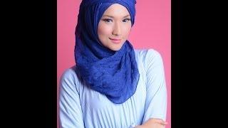 """Hijab Tutorial 69 """"Viscose Shawl Tutorial"""" with Ajeng HML Thumbnail"""