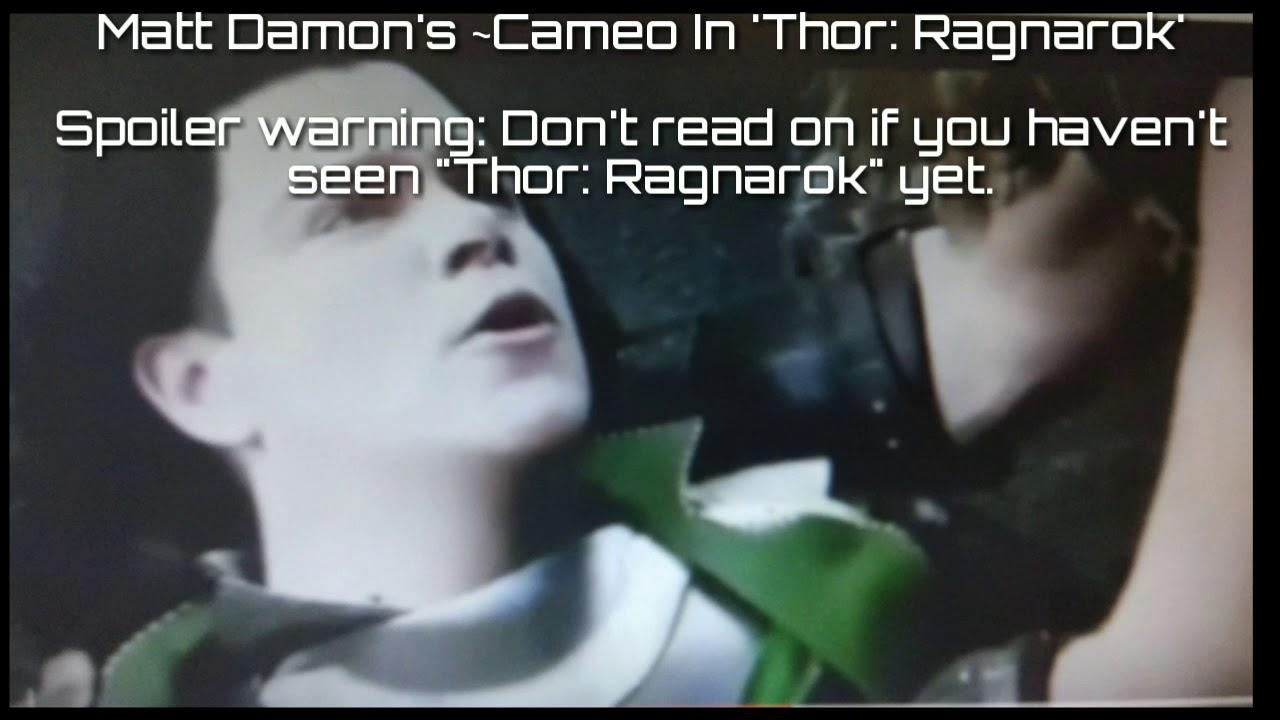 Thor Ragnarok Cameo Ma...