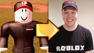 BECOMING A ROBLOX GUEST IN REAL LIFE!!