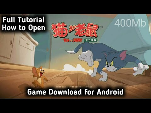 (400mb) Download High Graphics Tom \u0026 Jerry Game for Android | How to Open \u0026 Play