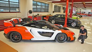 Private Tour of Griot's Insane Collection of Driver Cars!