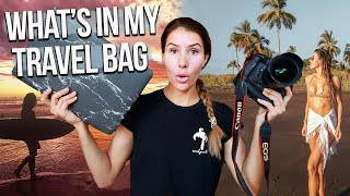 What's In My TRAVEL CAMERA BAG 2020 (Female Travel Vlogger)