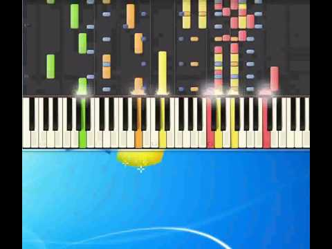 Ad averci i soldi di Inzaghi   Dj Angelo [Piano tutorial by Synthesia]