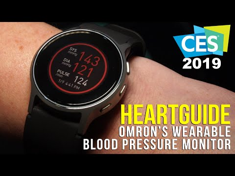 omron-heartguide-smart-wearable-blood-pressure-monitor-at-ces-2019!