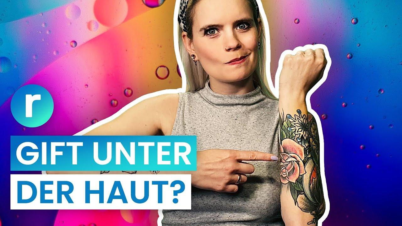 Bunte Tattoos: Machen sie mich wirklich krank? | reporter
