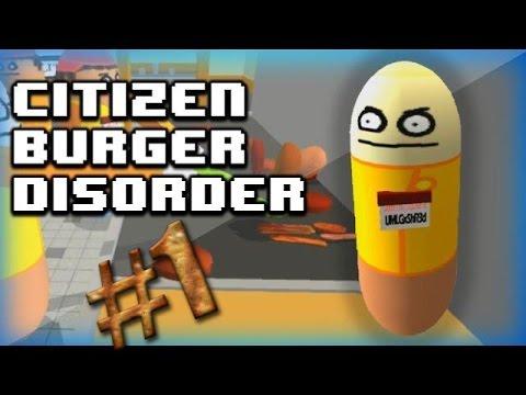 Citizen Burger Disorder Симулятор Макдональдса - обзор игры