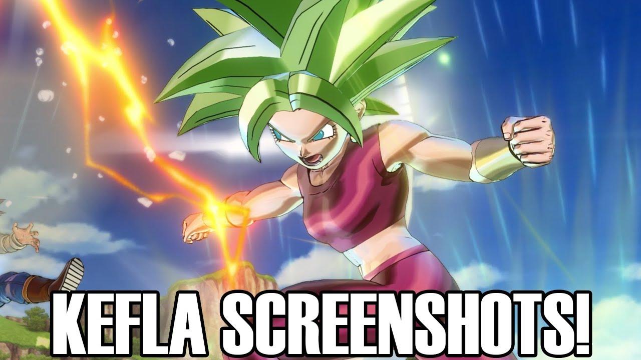 Dragon Ball Xenoverse 2 DLC Pack 7 HD Screenshots #2! Kefla Moveset!