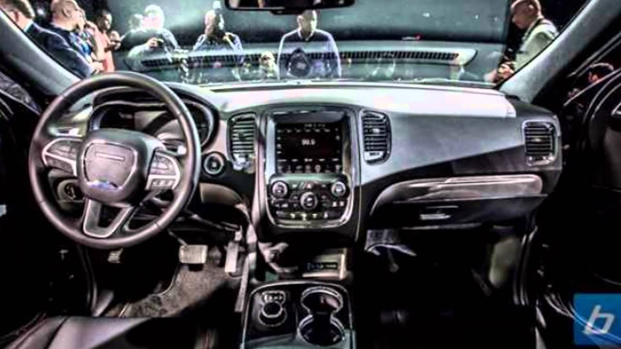 Amazing 2016 Dodge Durango Interior