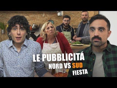 Le pubblicità Nord VS Sud - Fiesta