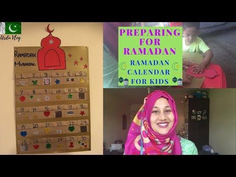 PREPARING FOR RAMADAN | RAMADAN CALENDAR FOR KIDS | FARYAL HASSAN
