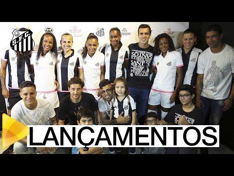 Santos FC lança as Linhas Casual, Feminina e Kids