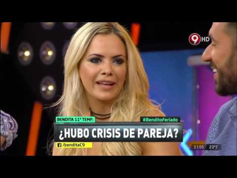 Jonás Gutiérrez hizo dormir en el suelo a Alejandra Maglietti y ella se vengó