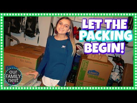 LET THE PACKING BEGIN! MOVING VLOG DAY 1