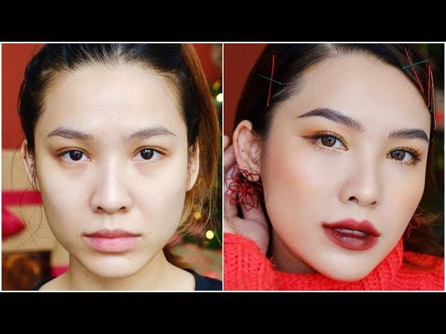 [Quach Anh Makeup Artist] Trang điểm đón Noel với Quách Ánh ❄️❄️❄️