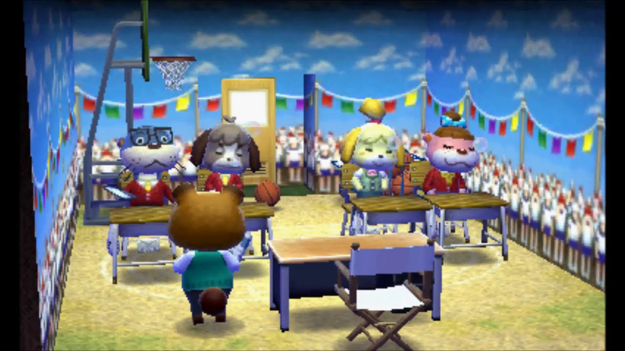 animal crossing: happy home designer - school upgrade - youtube