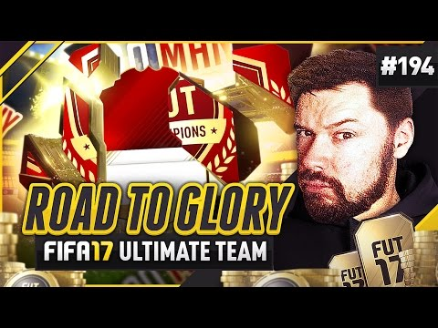 TOO MANY REWARDS?! - #FIFA17 Road to Glory! #194 ultimate team