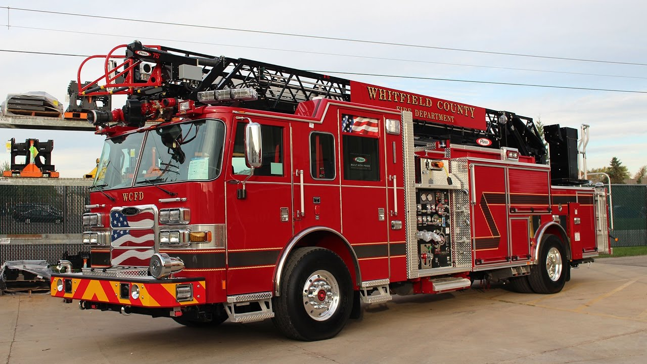 Whitfield County Arrow Xt 75 Heavy Duty Aerial Ladder Youtube