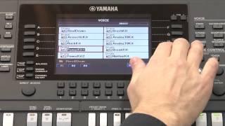 Yamaha PSR-S950: Поэтапная работа над созданием стиля