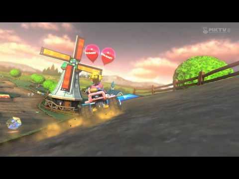 Wii U - Mario Kart 8 - (Wii) Kuhmuh-Weide