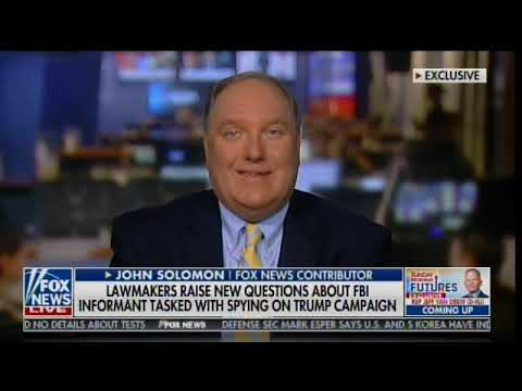 Reporter John Solomon Threatens Lawsuits Against Liberal Media Smear Merchants
