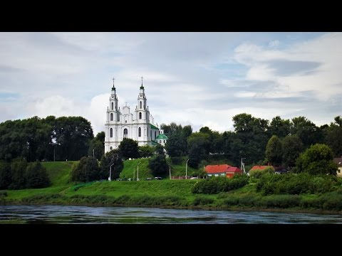Софийский собор в Полоцке - Time-Lapse