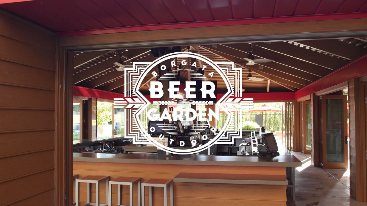 Borgata's Outdoor Pool and Beer Garden - YouTube