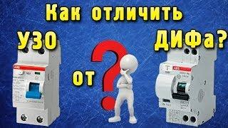 Дифавтоматы и УЗО: в чем разница и что выбрать, как отличить визуально, как подключить (в том числе вместе), инструкция с видео » Аква-Ремонт