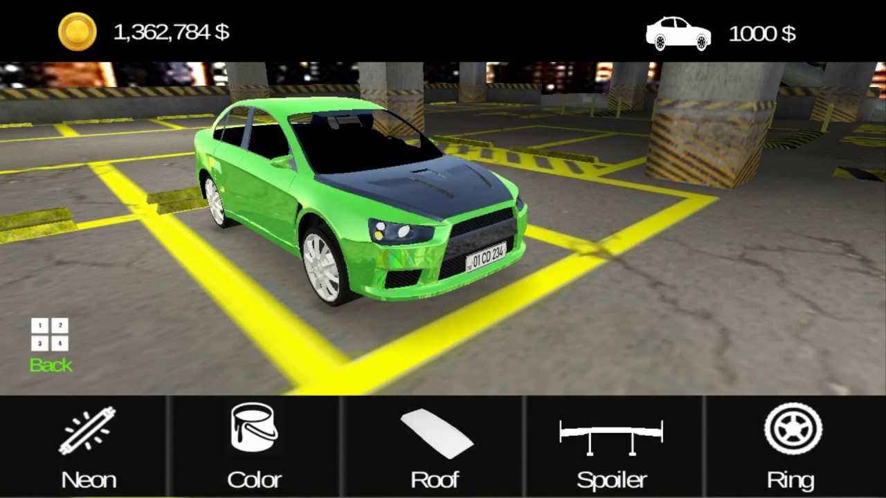 Car Parking Template 3 Youtube