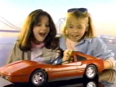 80's Ads: Barbie Ferrari 1987