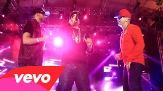 Wisin & Yandel Ft. Daddy Yankee - Hipnotizame Remix [Concierto En Vivo] @ElMasDuroHD