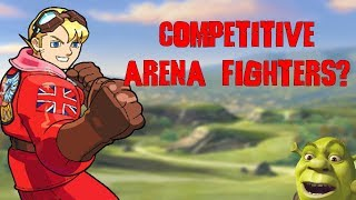 Why Are There No Competitive Arena Fighters?