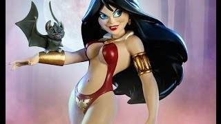 Vampirella Tooned Up statue by Electric Tiki/Sideshow Collectibles