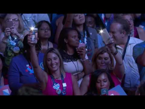 Katy Perry at DNC 2016